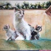 Francesca Lù - decorazioni feline con amore
