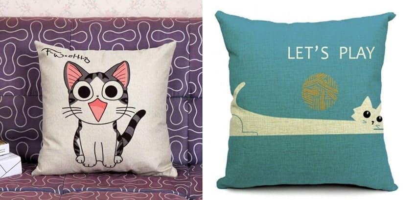 cuscini a tema gatto per natale regalo