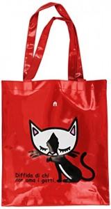 borsetta con gatto
