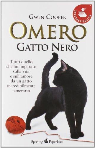 Omero gatto nero di Gwen cooper