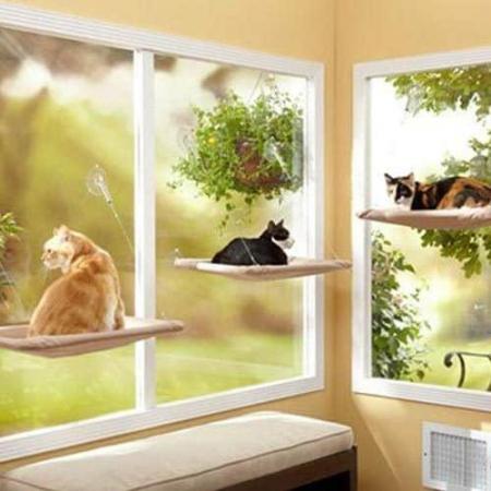lettino amaca da finestra gatti