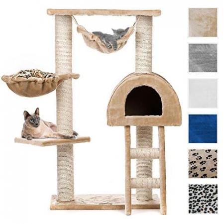 Happypet-tiragraffi-CAT018-medio-grande-altezza-100-cm-in-colori-diversi-0