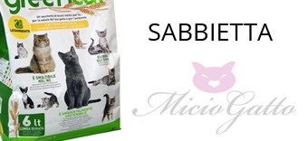 Sabbiette lettiere gatto