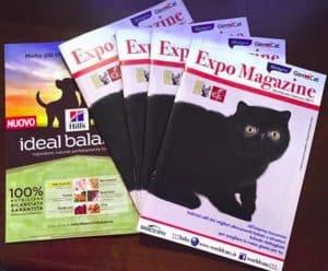 Expo magazine worldcats genova