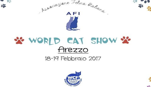 world cat show arezzo 2017