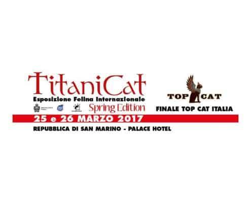 Titanicat 2017 spring edition