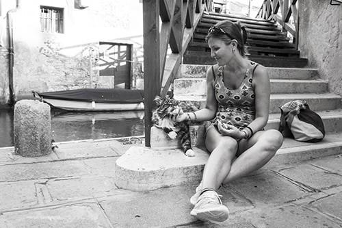 Con Rudolf a Venezia MicioGatto