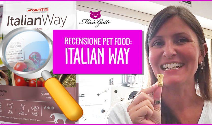 Recensione pet food Giuntini italianWay