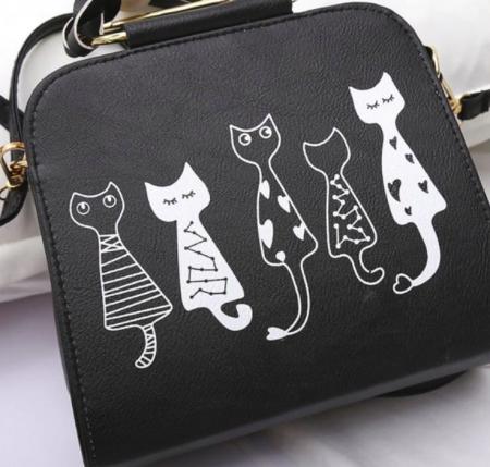borsa per amanti dei gatti