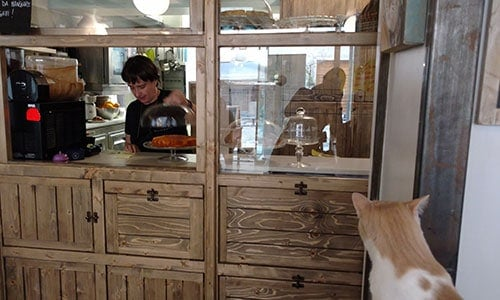 La cucina del Miagola Ceffè