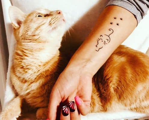 tatuaggi gatti idee e immagini