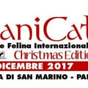 Esposizione internazionale felina Titanicat Christmas edition 2017 San Marino