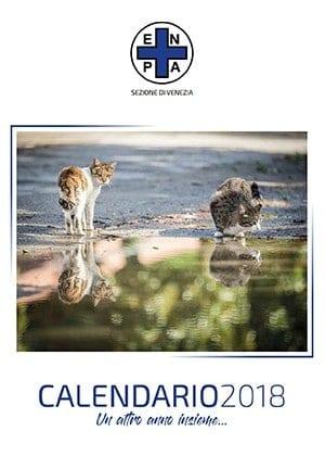 calendario 2018 gatti di forte marghera