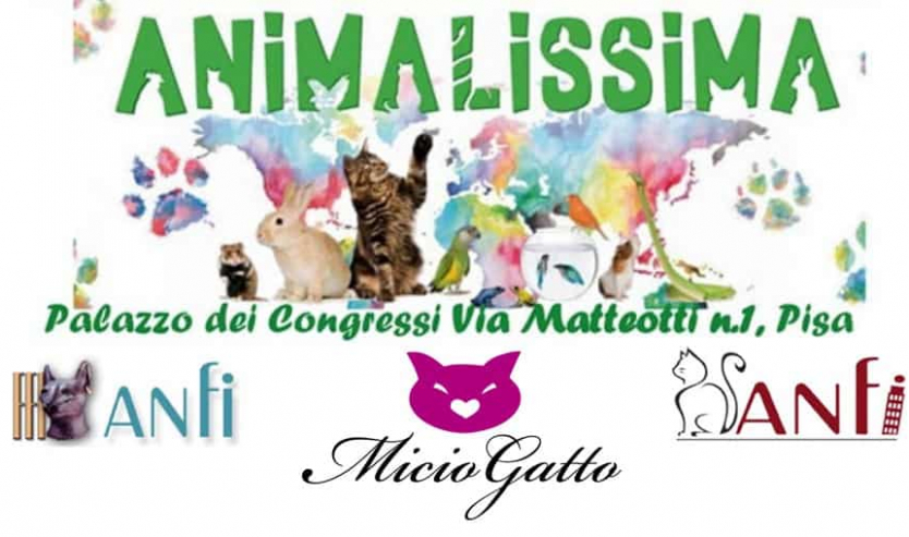 Animalissima Pisa 2018