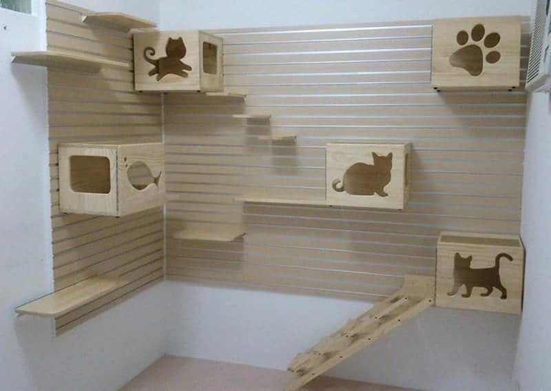 condominio per gatti etsy