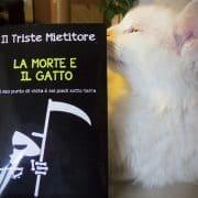 libro il triste mietitore la morte e il gatto