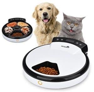 dispenser automatico cibo umido e secco per gatti