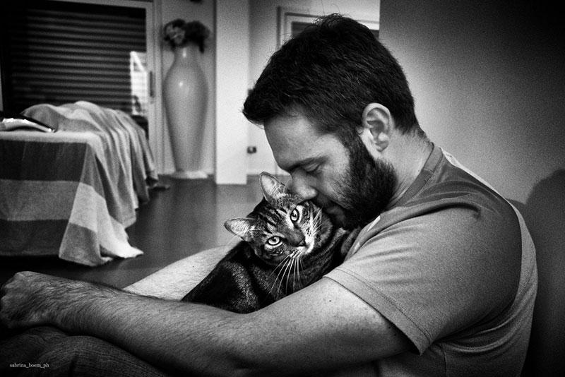 amore uomini gatti