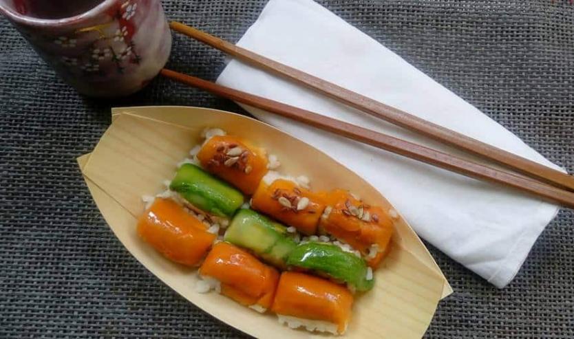 ricetta sushi fatto in casa per gatti cat-sushi