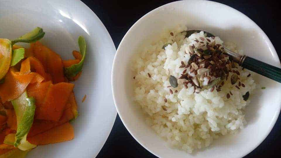 ricetta sushi fatto in casa verdure