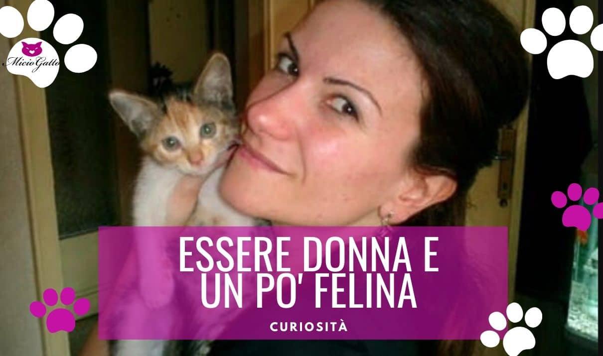 Costanza De Palma donna gatta donna felina