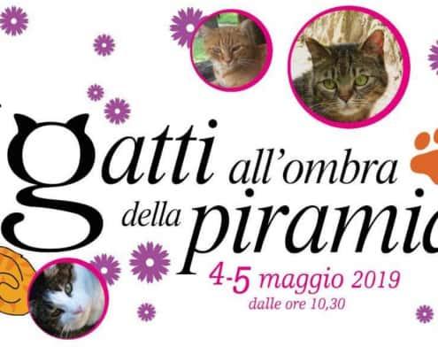 Mercatino I gatti ombra della Piramide Roma 2019