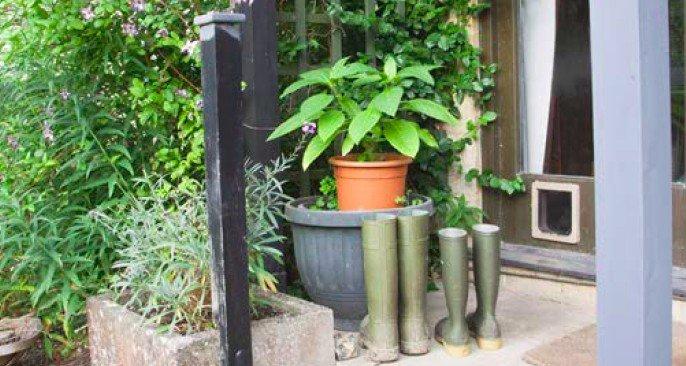 come recintare un giardino per i gatti