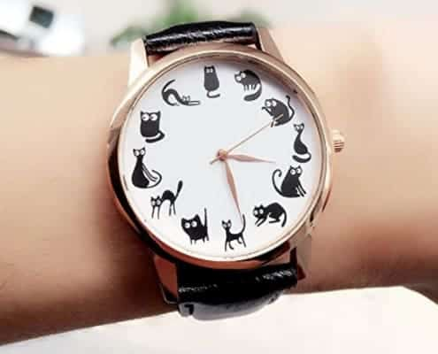 I più belli orologi da polso a tema gatto