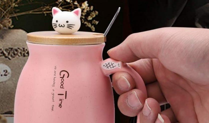 Tazze gatto gattose le più belle tazze a forma di gatto