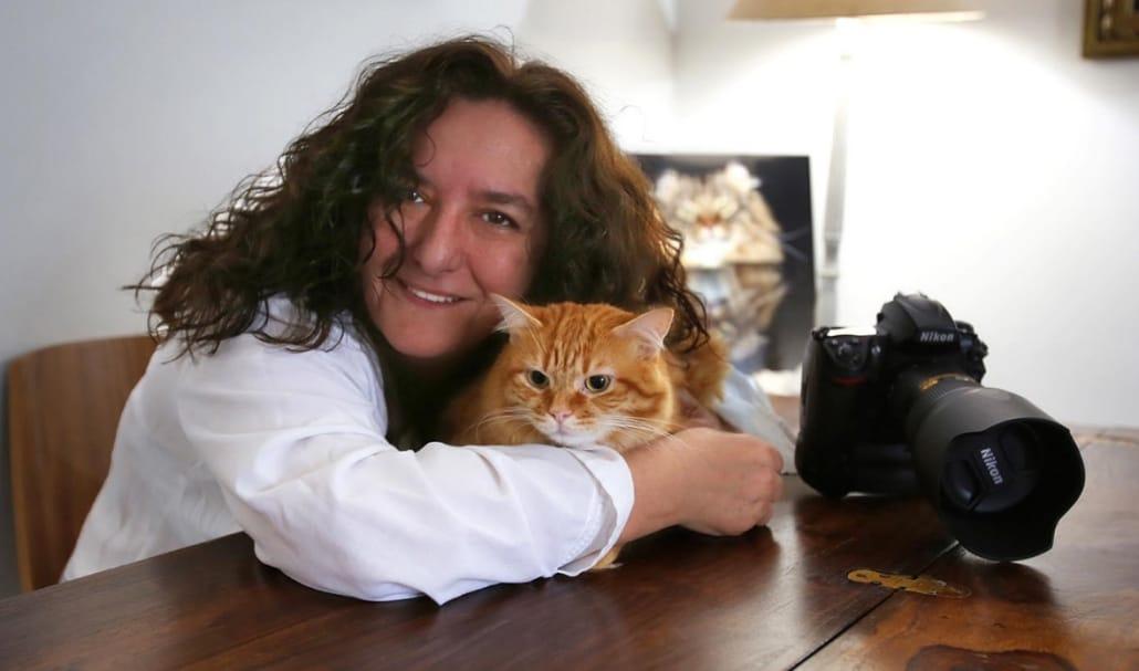 Claudia Rocchini La fotografa dei gatti