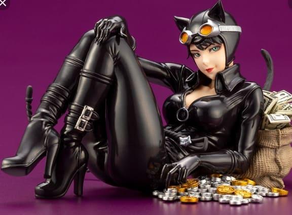 vestito da catwoman