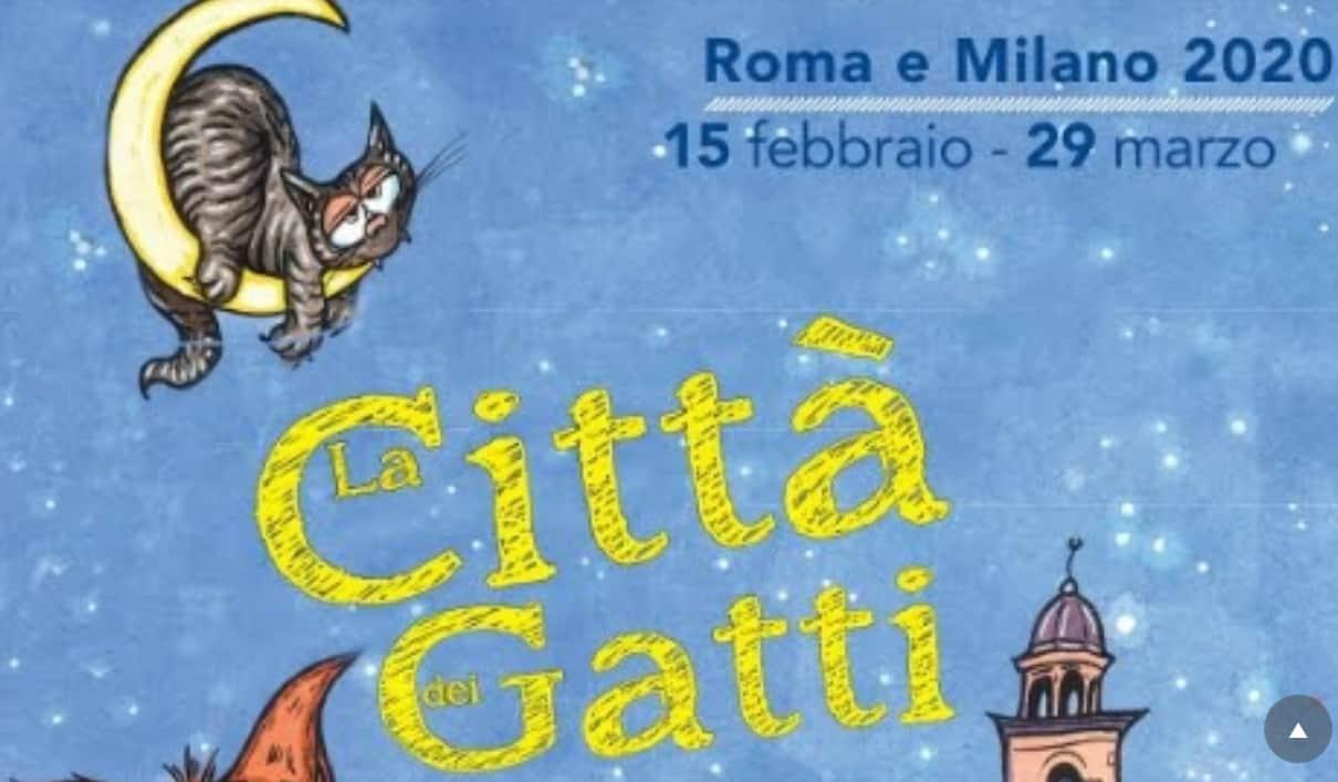 La città dei gatti 2020 - un mese di eventi a Milano e Roma