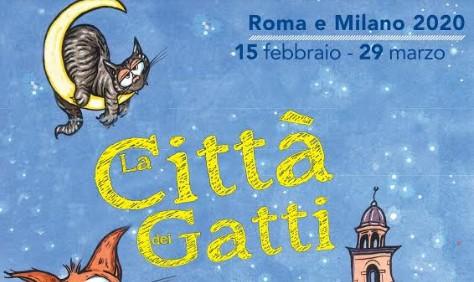 città dei gatti 2020 milano roma