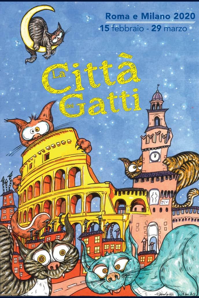 città dei gatti 2020 milano roma eventi
