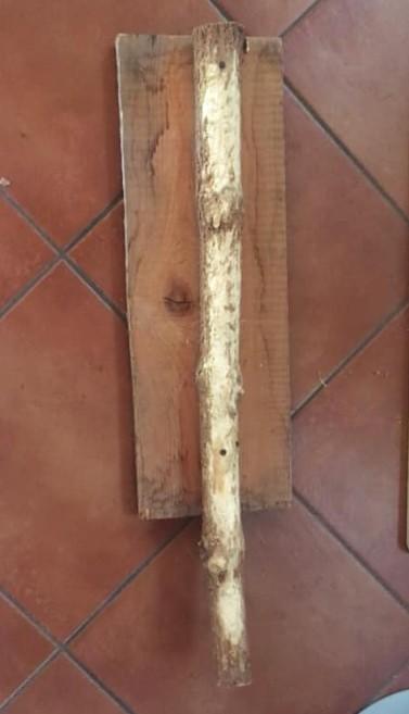 graffiatoio con albero