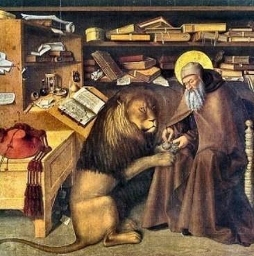 San Girolamo e il leone